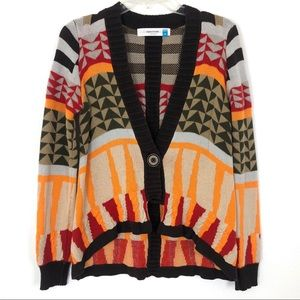Anthropologie Sparrow Oman Geometric Cardi…
